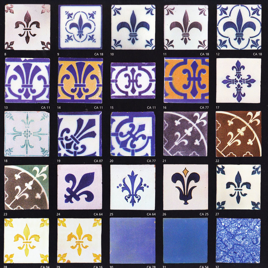 Carreaux de faience anciens for Carreaux faience anciens